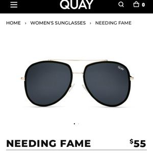 Quay needing fame sunglasses